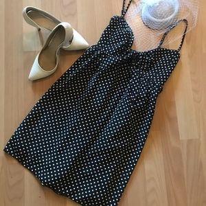 Dresses & Skirts - Polka Dot dress NWOT size L